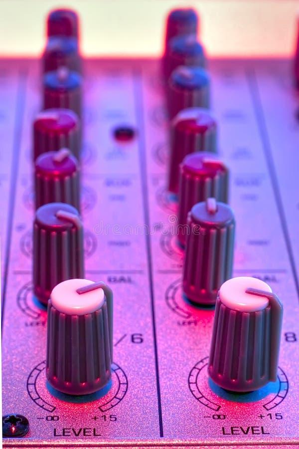 Download Audio mixer detail stock photo. Image of line, jockey - 3004072
