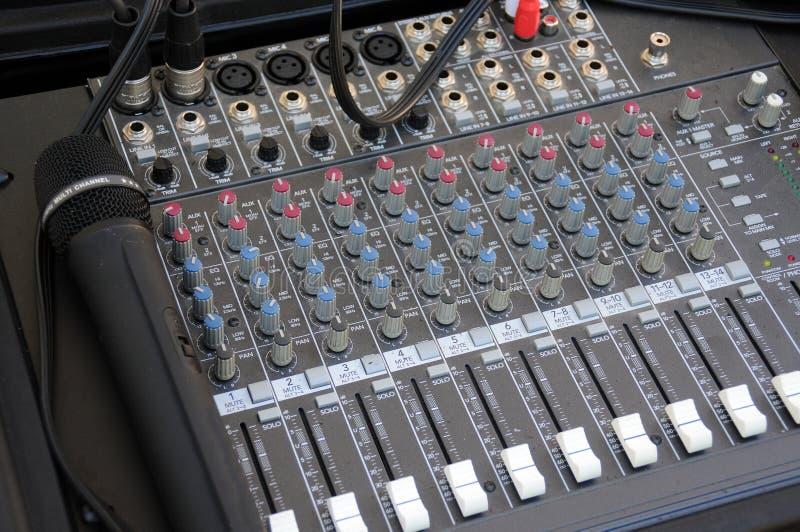 Download Audio Mixer Hardware stock image. Image of instrument - 15469795