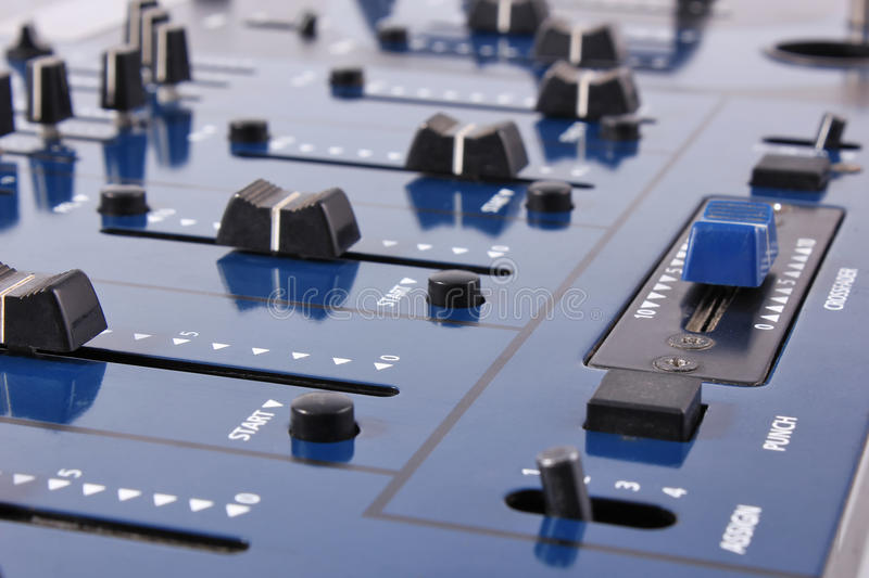 Download Audio Mixing Control Panel Royalty Free Stock Image - Image: 23376876
