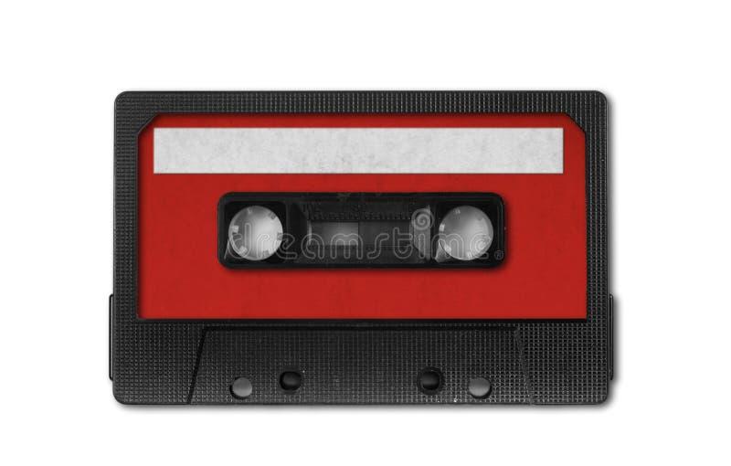Audio nastro a cassetta della retro annata fotografia stock libera da diritti