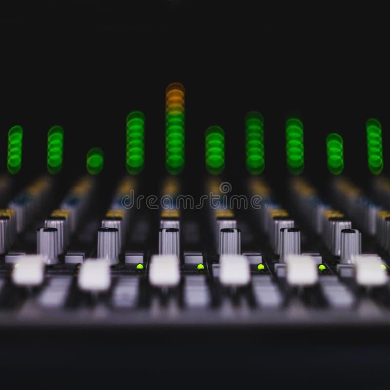 audio produkcja obraz stock
