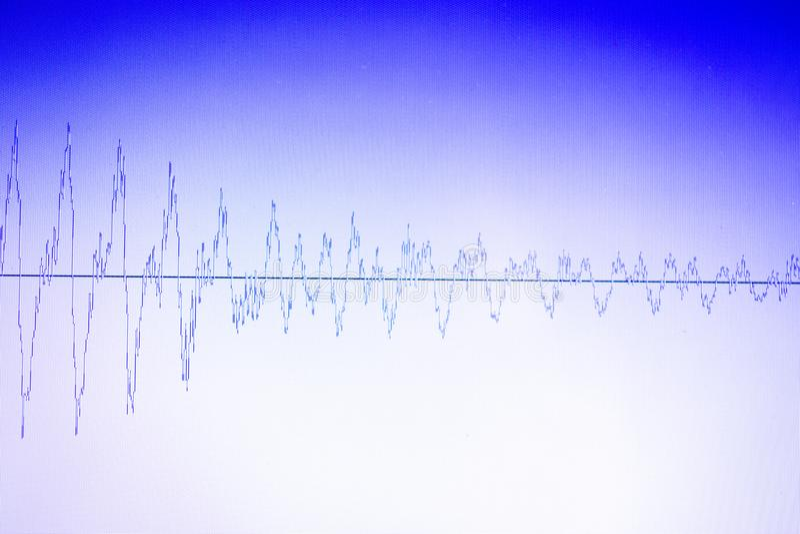 Download Audio Pubblicazione Dello Studio Dell'onda Sonora Fotografia Stock - Immagine di background, suono: 117976544