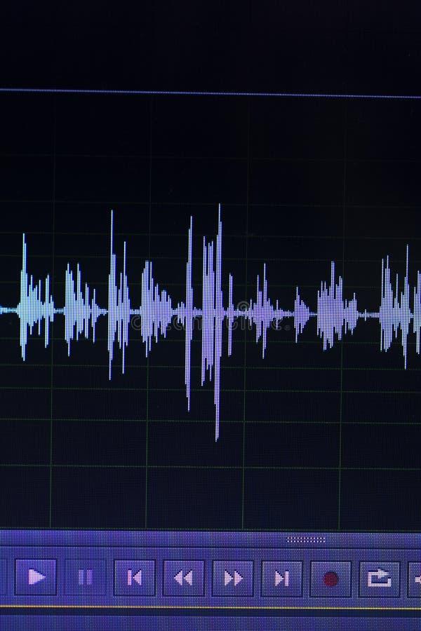 Download Audio Pubblicazione Dello Studio Dell'onda Sonora Immagine Stock - Immagine di modello, stampa: 117976581