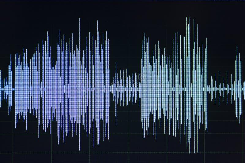 Download Audio Pubblicazione Dello Studio Dell'onda Sonora Fotografia Stock - Immagine di elettronico, calcolatore: 117976582