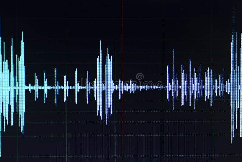 Download Audio Pubblicazione Dello Studio Dell'onda Sonora Immagine Stock - Immagine di stampa, sopra: 117976583