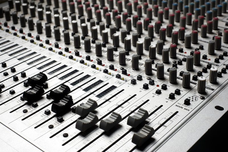 Download Audio Recording Equipment Stock Images - Image: 6048174