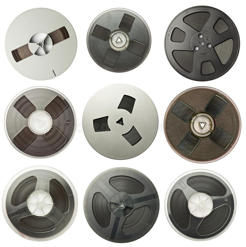 Free Audio Reels Stock Images - 23240124