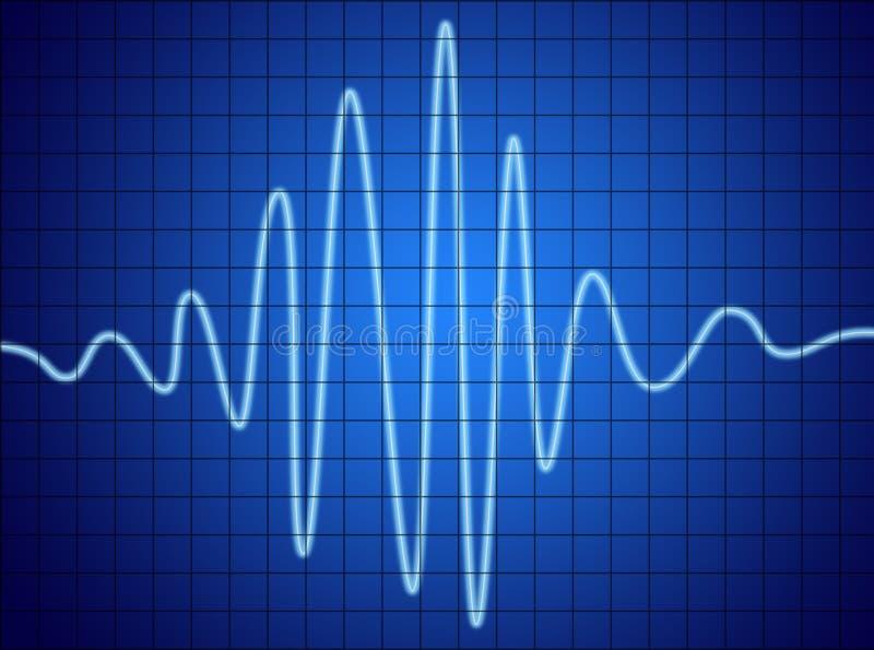 Audio segnale illustrazione vettoriale