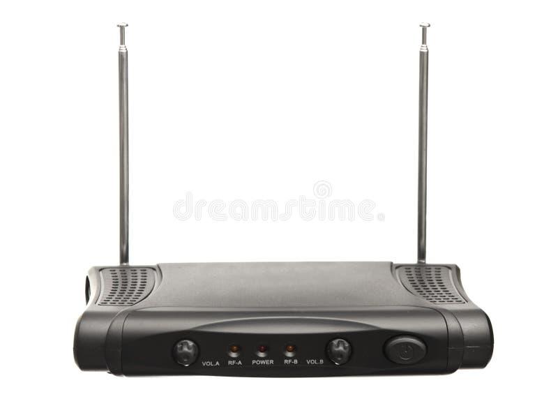 Audio Signal Receiver stock photo