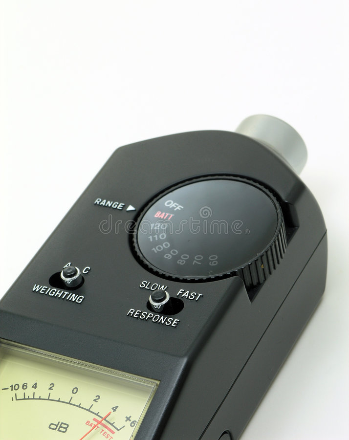 Download Audio Sound Level Meter stock image. Image of audio, meter - 214219
