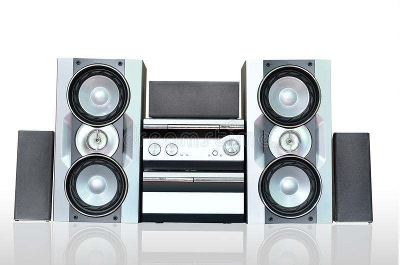 Audio Sound System Stock Photo