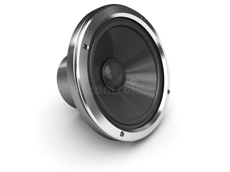Audio speaker royalty free illustration