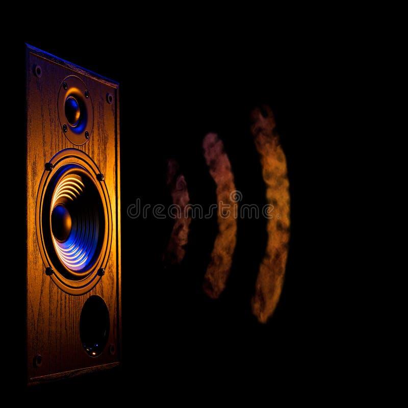 Audio-speaker5 lizenzfreie stockfotos