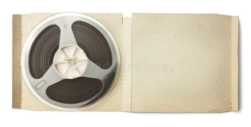 Audio spoel royalty-vrije stock foto's