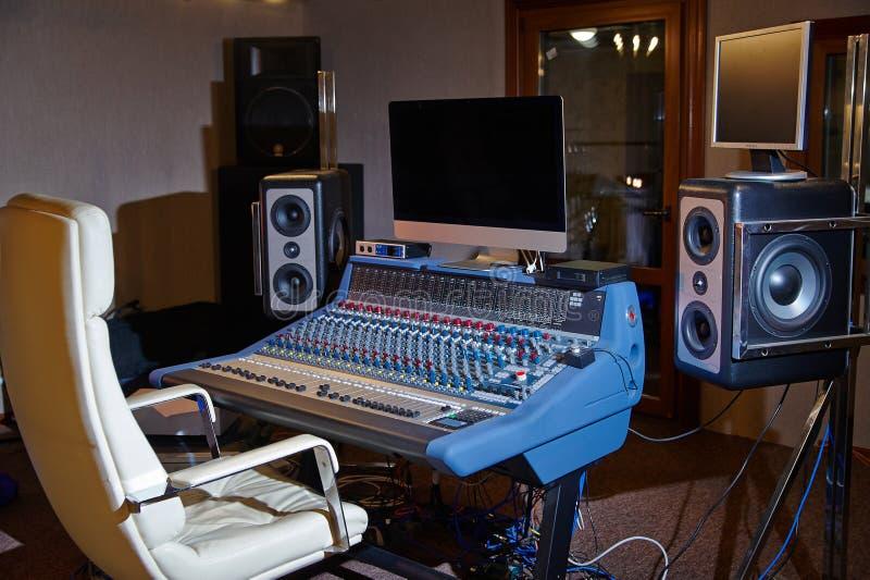 Audio studio nagrań zdjęcie royalty free