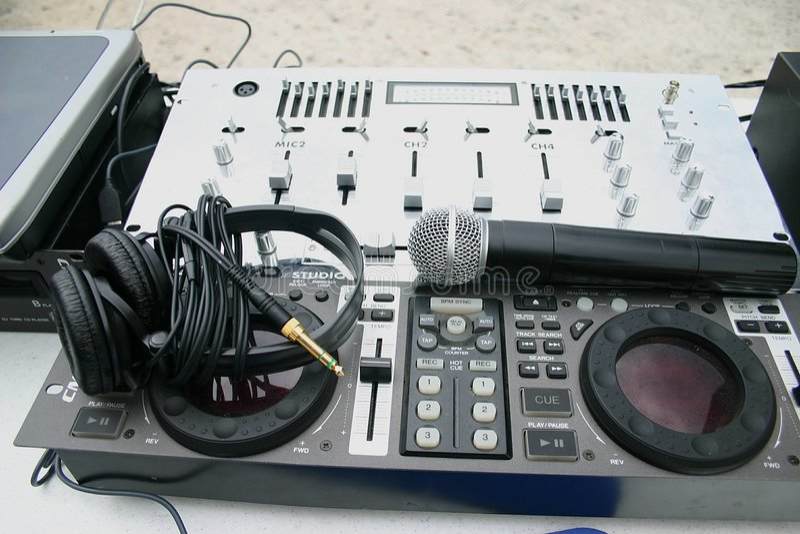 Audio Systeem stock foto's