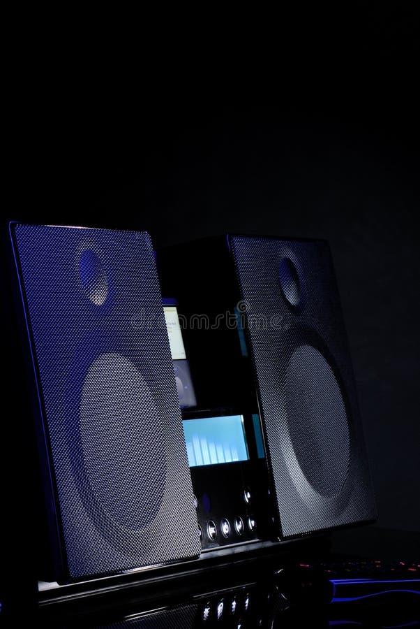 Audio System Stock Photo