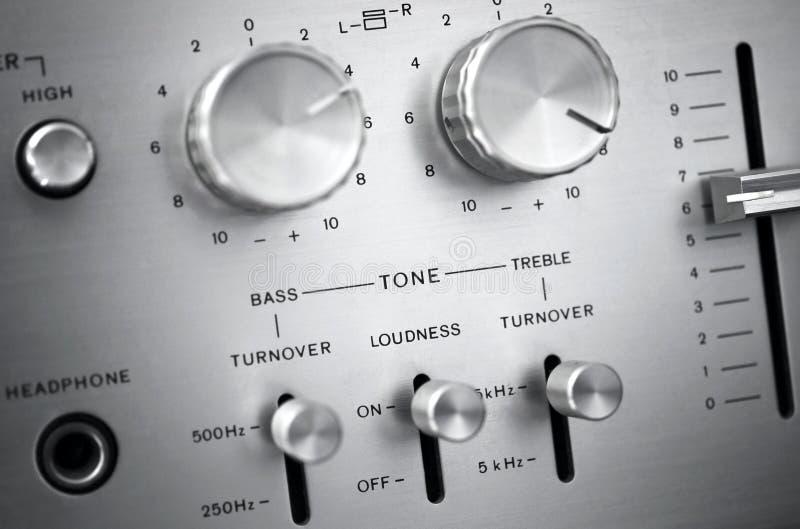 Audio system obrazy stock