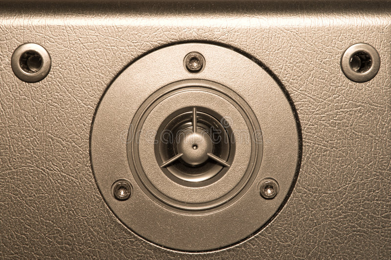 Audio system equipment royalty free stock photography