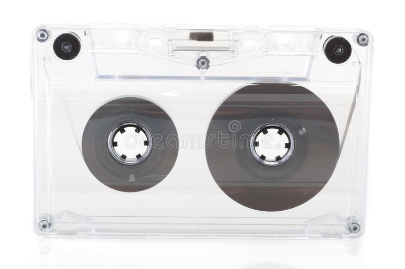 Audio tape stock photography