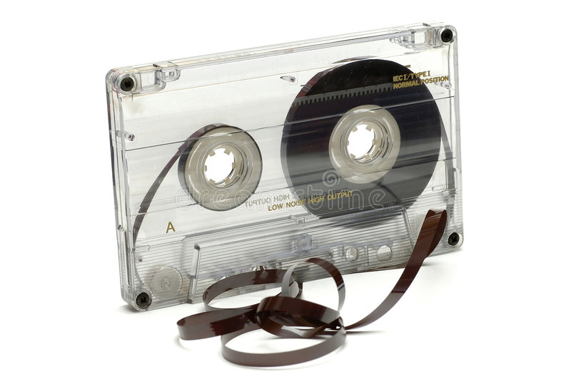 Audio Tape royalty free stock photos