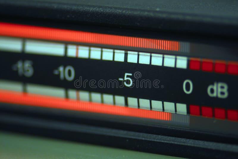 Audio tester RTW fotografie stock libere da diritti