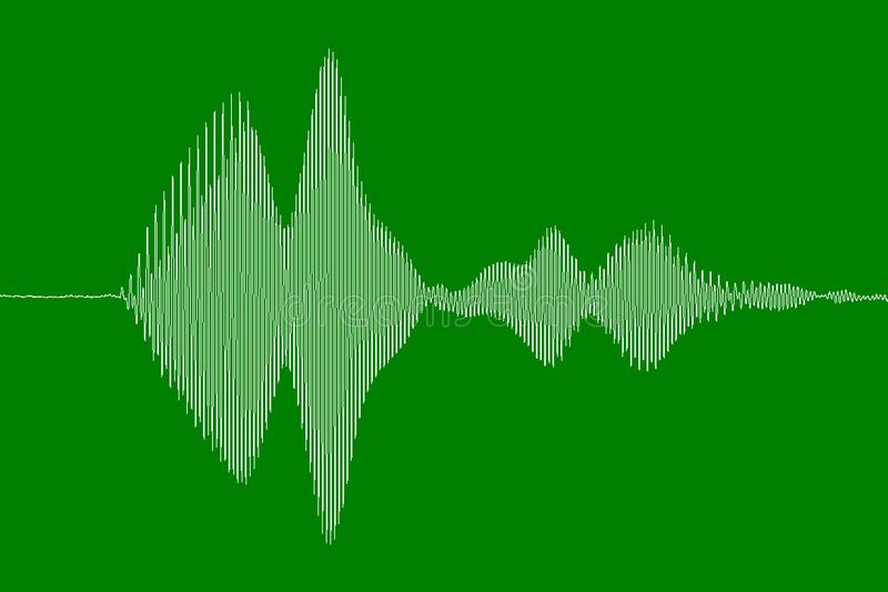 audio waveform of dog bark stock images