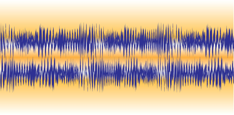 Download Audio Waveforms stock vector. Illustration of sound, beats - 6749988