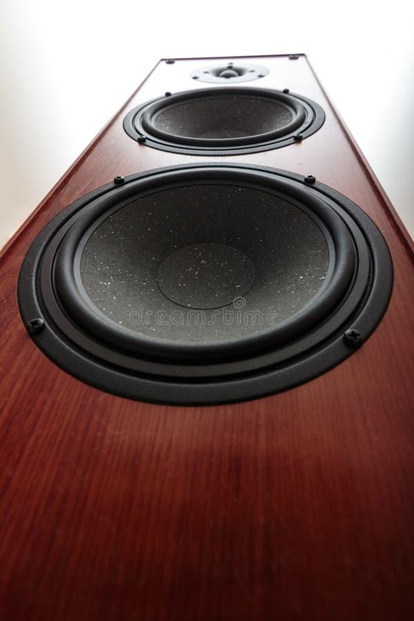 Audiobass-Sprecher stockbilder