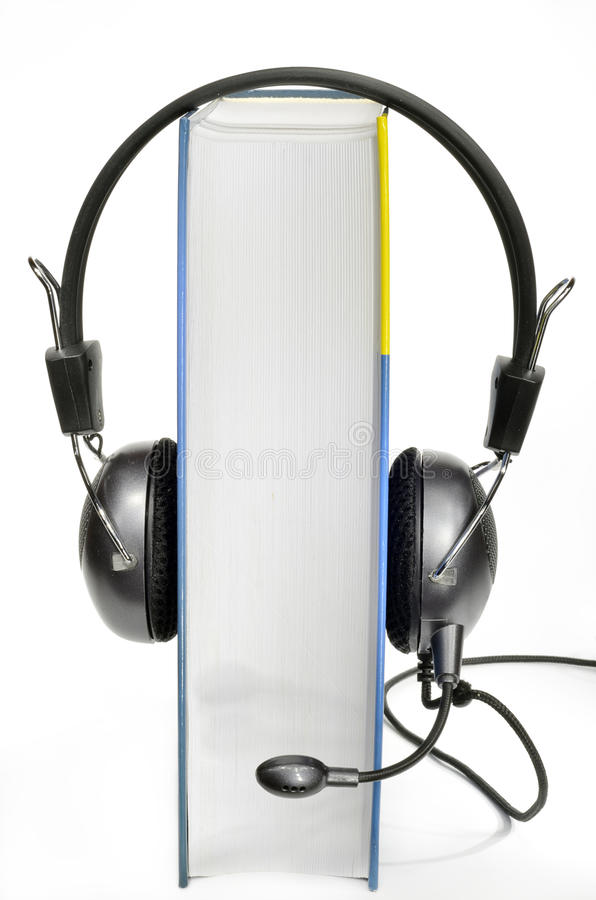 Audiobook royalty-vrije stock foto's