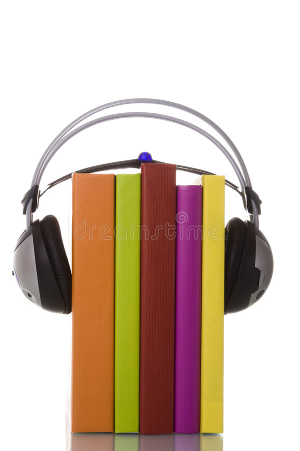 audiobook 库存图片