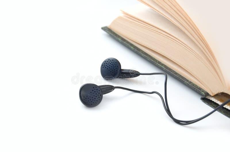 audiobook 免版税库存图片