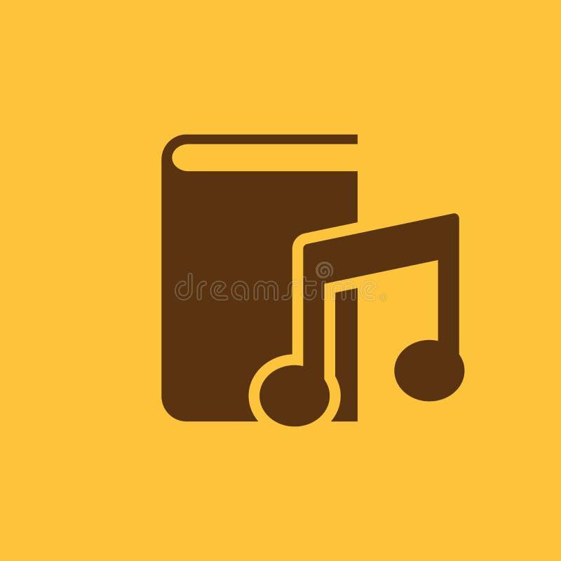 Audiobook-Ikone ENV 10 Bibliothek, Audiobook-Symbol web graphik jpg ai app zeichen nachricht flach bild zeichen stock abbildung