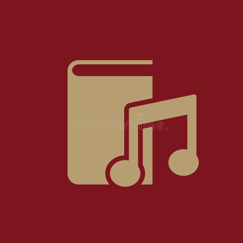 Audiobook-Ikone ENV 10 Bibliothek, Audiobook-Symbol web graphik jpg ai app zeichen nachricht flach bild zeichen vektor abbildung