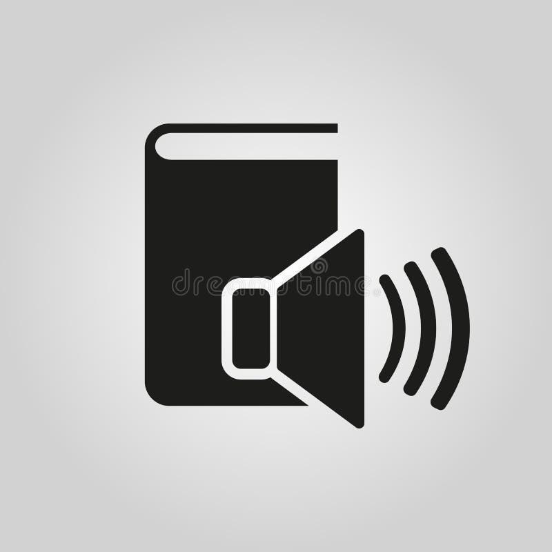 Audiobook-Ikone ENV 10 Bibliothekssymbol web graphik jpg ai app zeichen nachricht flach bild zeichen ENV Kunst vektor abbildung