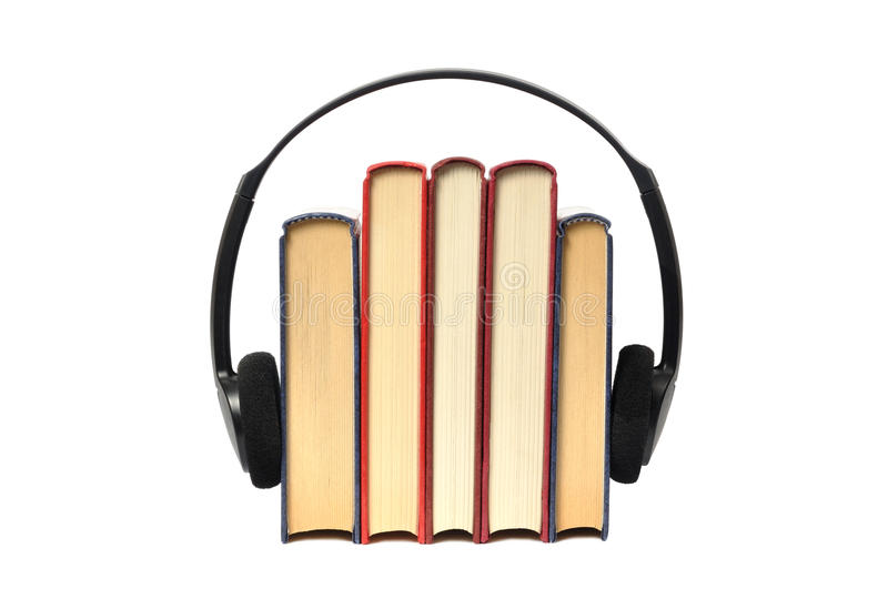 Audiobooks royalty free stock images