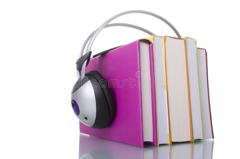 Audiobooks fotografie stock