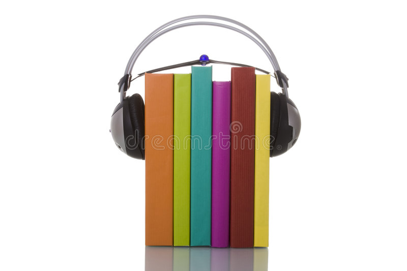 audiobooks 库存图片