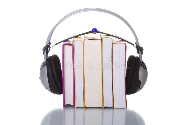 audiobooks 免版税图库摄影