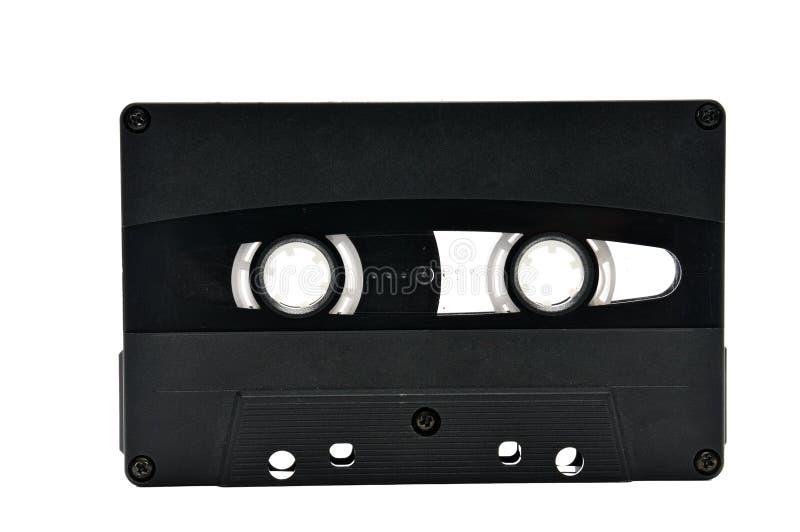 Audiocassette om de correcte jaren van jaren '70jaren '90 te registreren stock fotografie