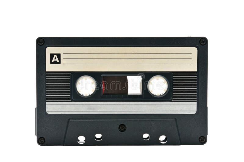 Audiocassette om de correcte jaren van jaren '70jaren '90 te registreren royalty-vrije stock fotografie