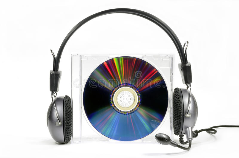 Audiocd stock afbeeldingen