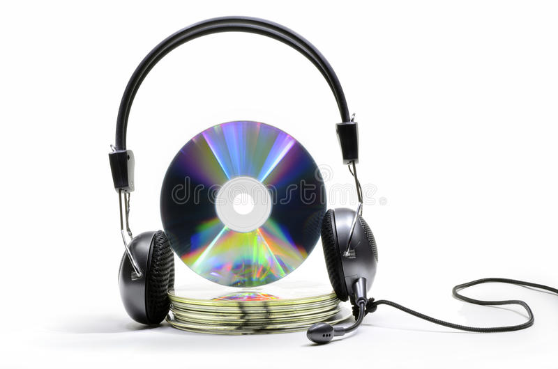 Audiocd stock afbeelding