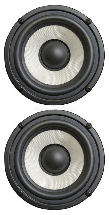 Audiolautsprecher stockfotos