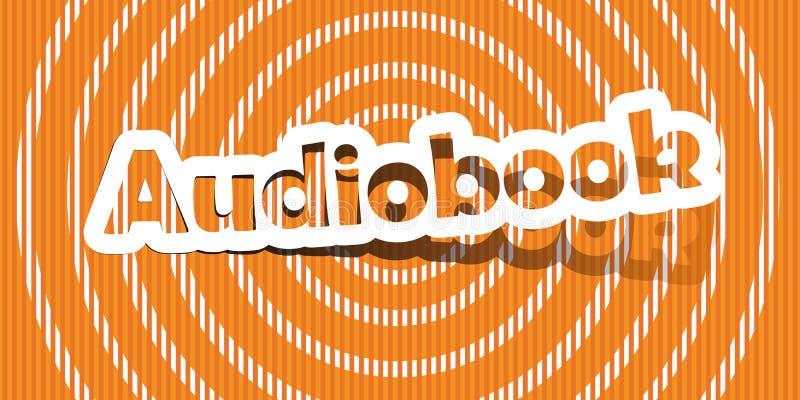 Audiolibro stock de ilustración