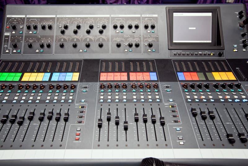 Audiomischer stockfotos