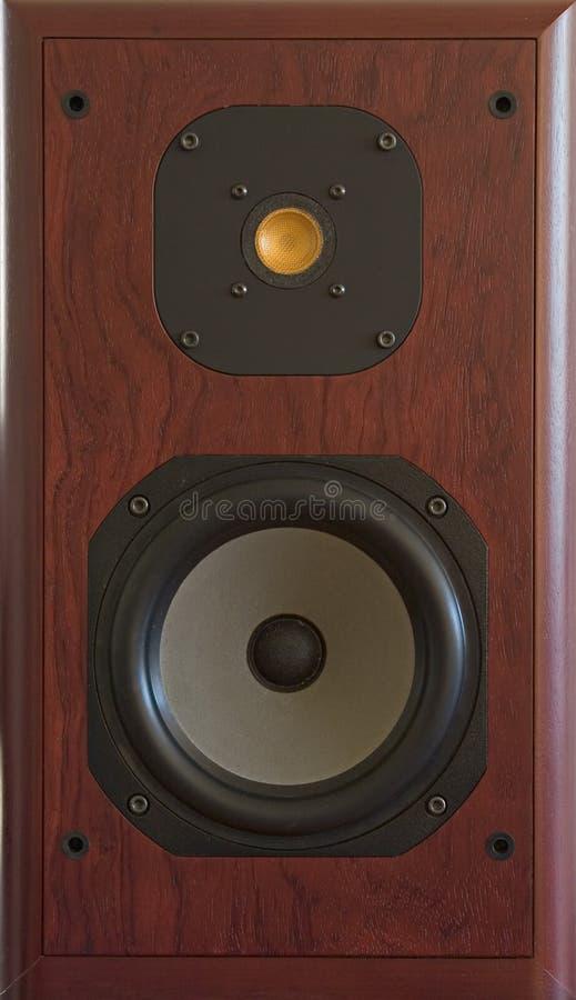 Audiophile loudspeaker royalty free stock photography