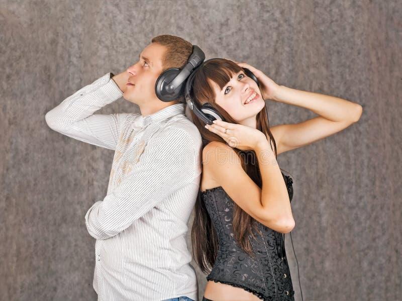 Audiophiles obraz stock