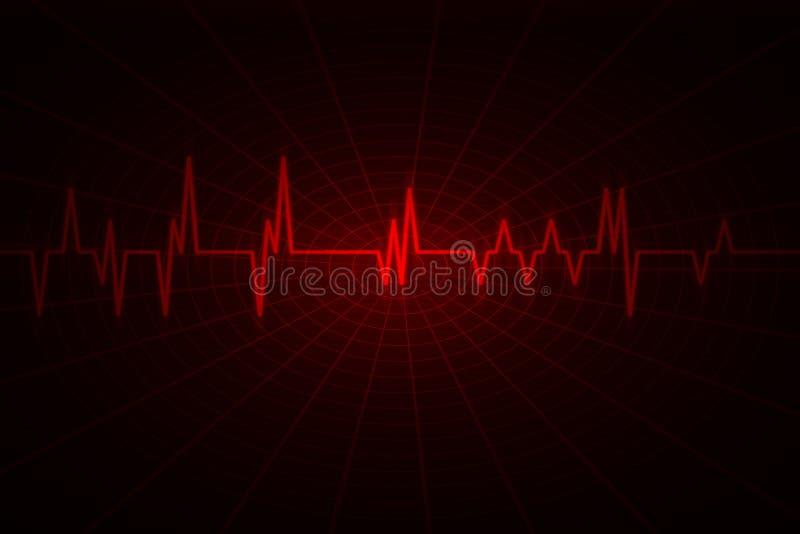 Audios- oder Impulsschlagwelle stockfotos