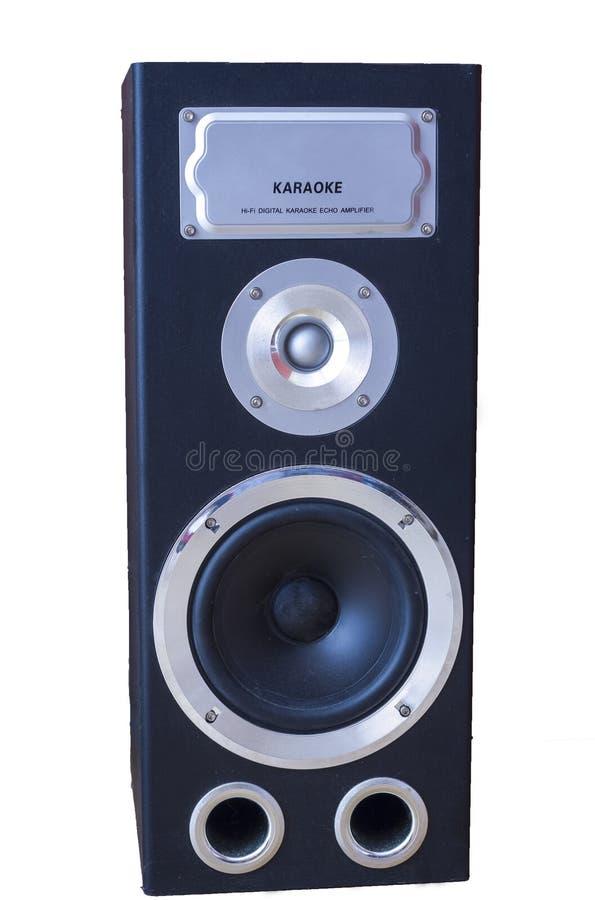 Audiosprecher mit Karaokefunktion stockbilder